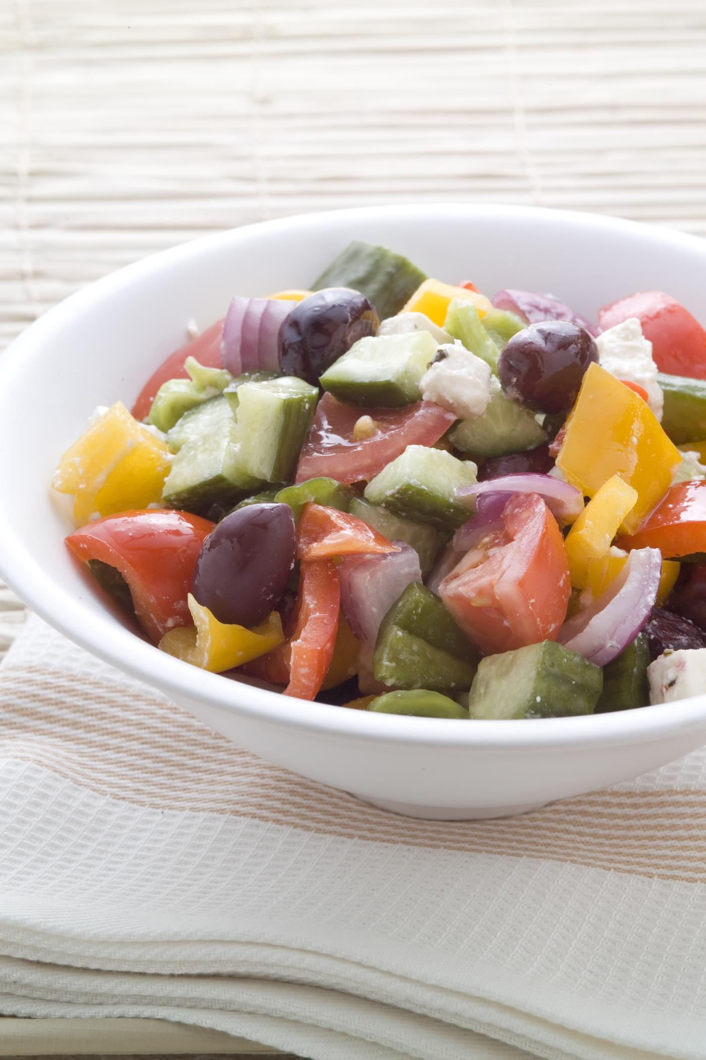 Greek-style potato salad