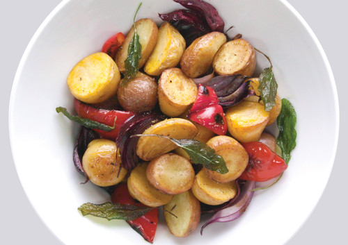Roasted Piccolos Potatoes & Mediterranean Vegetables